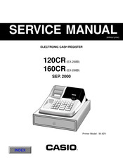 Casio 120CR Service Manual