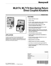 Honeywell ML7174A Manual