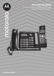 Motorola ML25255 Full User Manual