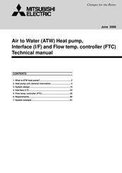 Mitsubishi Electric PUHZ-W140VHA Technical Manual