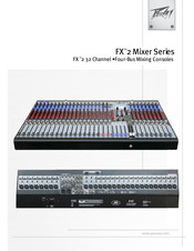 Peavey FX 2 Series Manual