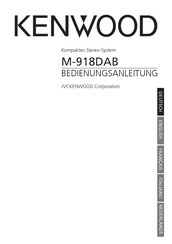 Kenwood M-918DAB Operating Manual