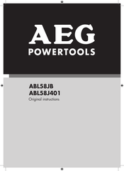 AEG ABL58JB Original Instructions Manual