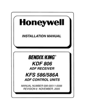 Honeywell BENDIX/KING KFS 586A Installation Manual