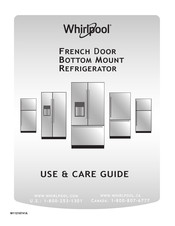 Whirlpool WRX735SDHV Use & Care Manual