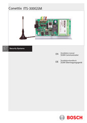 Bosch Conettix ITS-300GSM Installation Manual