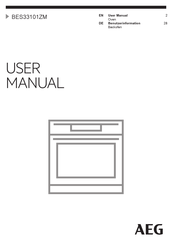 AEG BES33101ZM User Manual