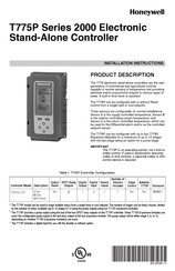Honeywell T775P2003 Installation Instructions Manual