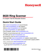 Honeywell 8620 Quick Start Manual