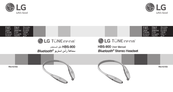 LG Tone Infinim HBS900 User Manual