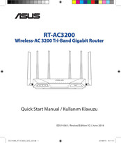 Asus RT-AC3200 Quick Start Manual