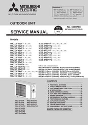 Mitsubishi Electric MXZ-2F42VF Service Manual