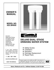 Kenmore 625.384650 Owner's Manual