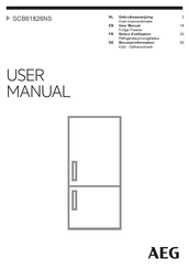 AEG SCB61826NS User Manual
