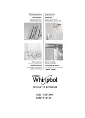 Whirlpool ACMT 5131/WH Instructions For Use Manual