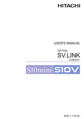 Hitachi SV.LINK User Manual