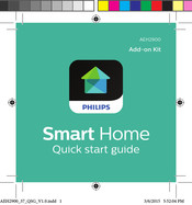 Philips Smart Home  AEH2900/37 Quick Start Manual