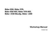 Husqvarna Rider 850 HST Workshop Manual