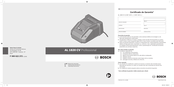 Bosch Professional AL 1820 CV Operating Instructions Manual
