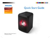 Philips TANX100/98 Quick Start Manual