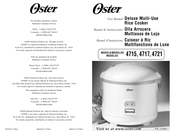 Oster 4721 User Manual