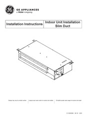 Haier AD12SL2VHA Installation Instructions Manual