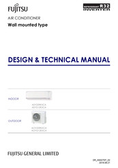 Fujitsu ASYG09KXCA series Design & Technical Manual