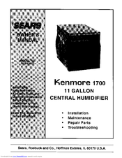 Kenmore 303.14601 Owner's Manual