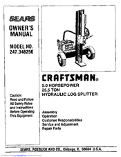 Craftsman 247.346250 Owner's Manual