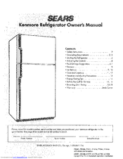 Kenmore KENMORE 6T 278 Owner's Manual