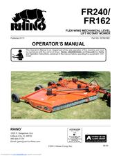 Rhino FR240 Manuals