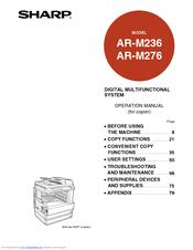 Sharp ar-m276 driver downloads   printer support drivers.