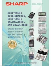 sharp el 531wh manuals rh manualslib com sharp el-531wh user manual sharp el-531wh scientific calculator manual