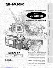 Sharp vl-e37 vl-e307 sm service manual download, schematics.