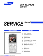 Samsung SGH-T519 - Trace Cell Phone Service Manual