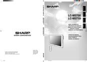 Sharp LC-M3700 Operation Manual
