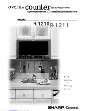 Sharp Carousel R 1214 Manuals