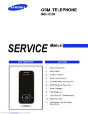 samsung sgh f250 service manual pdf download rh manualslib com Samsung SMT H3362 Manual Samsung Owner's Manual