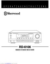 sherwood rd 6106 manuals rh manualslib com