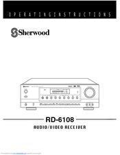 sherwood rd 6108 manuals rh manualslib com