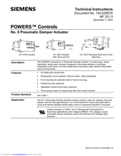 Siemens 332-2856 AP 331-3 Technical Instructions