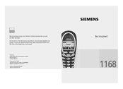 Siemens 1168 Owner's Manual