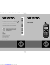 Siemens A35 User Manual