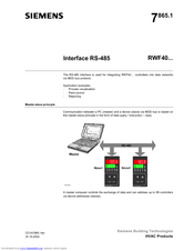 siemens rwf40 series manuals rh manualslib com