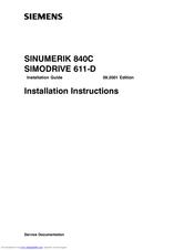 siemens sinumerik 840c manuals