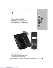siemens pocket 2011 tango operating instructions manual pdf download rh manualslib com