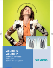 Siemens ACURISTM P User Manual