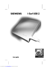 Siemens I-SURF User Manual