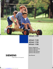 Siemens HiPath 1100 User Manual