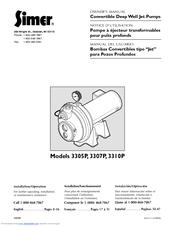 Simer 3307P User Manual